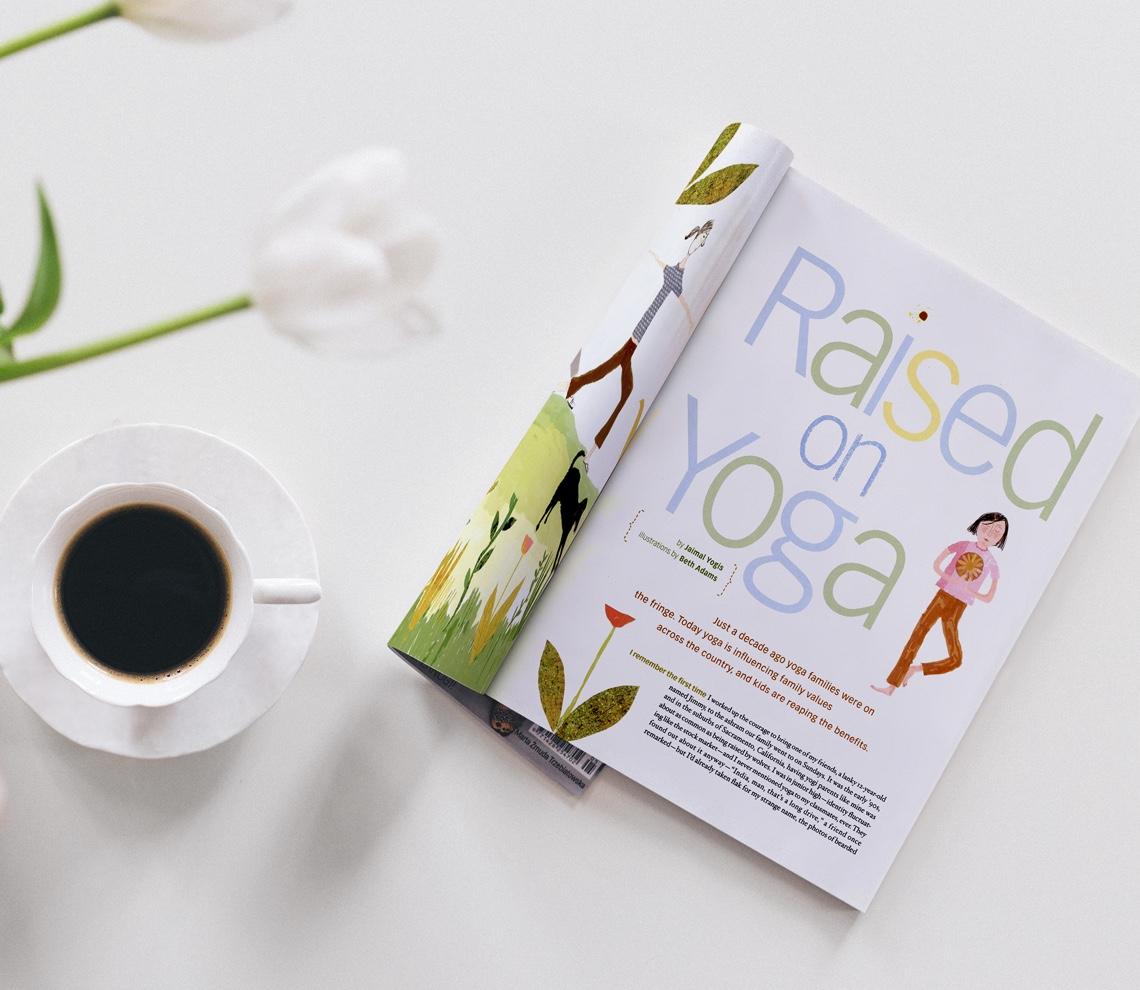 Yoga Journal Magazine | Redbird Group