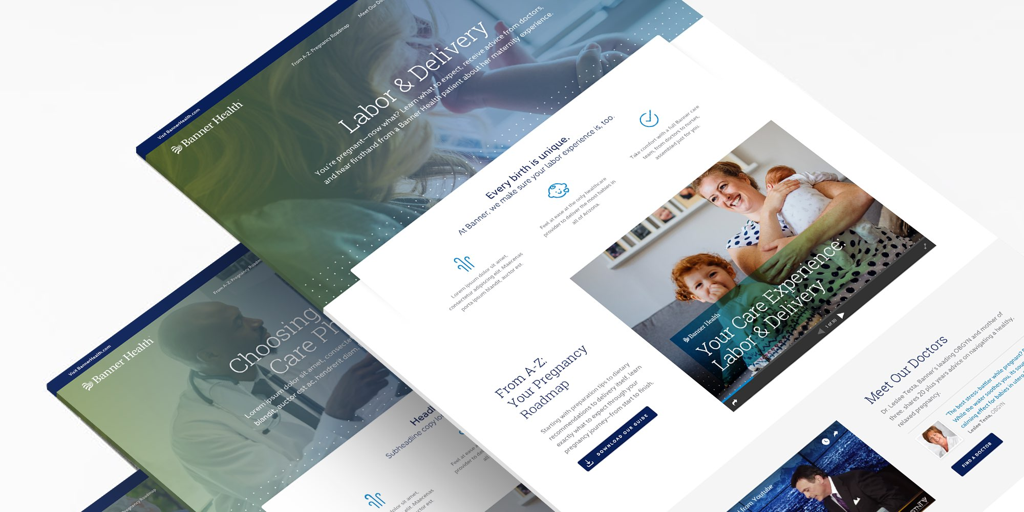 Banner Health Procedural Landing Pages in Perspective