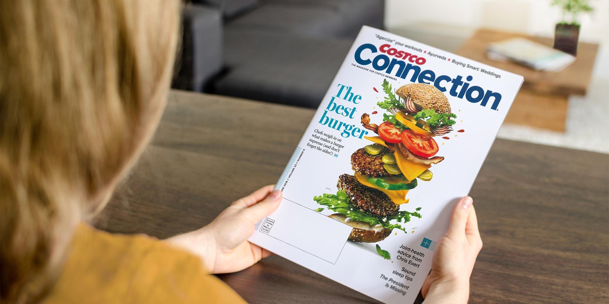 Costco – Connection Magazine Rebrand